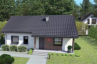 Projekt domu Dom przy Bukowej 39