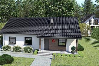 Projekt domu Dom przy Bukowej 38