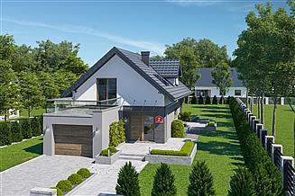 Projekt domu Dom przy Kolorowej 2