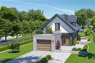 Projekt domu Dom przy Migdałowej 4