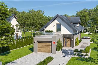 Projekt domu Dom przy Migdałowej 5