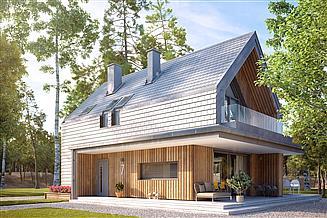 Projekt domu Malutki 7