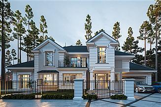Projekt domu Willa Siedziba