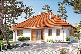 Projekt domu Aruba