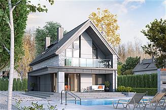 Projekt domu Malutki 5