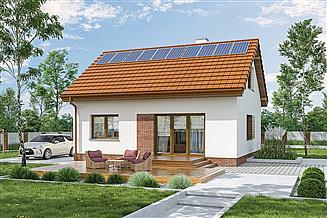 Projekt domu Murator M262b Słuszny wybór - wariant II