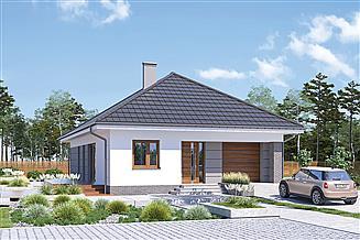 Projekt domu Murator M242g Od serca - wariant VII