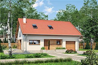 Projekt domu Murator M201 Senne marzenie (etap I)