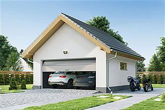 Projekt garażu Garaż G2A