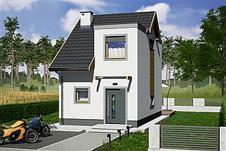 Projekt domu Morski 2 - dwulokalowy