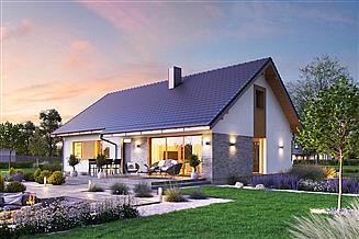 Projekt domu Domena 128 C