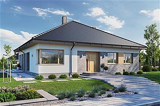 Projekt domu Domena 121 C1