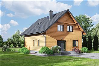 Projekt domu Grochowice 1dws