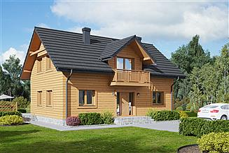 Projekt domu Piekarów dws