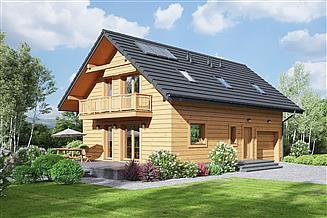 Projekt domu Bronowice 3gk dws