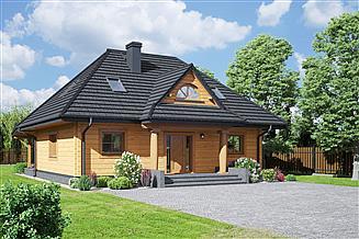 Projekt domu Chmielniki małe dw 71