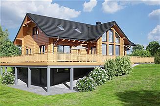 Projekt domu Wyżne 1 dw