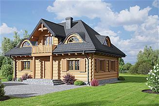 Projekt domu Chmielniki małe 16 dw