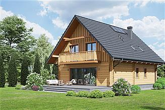 Projekt domu Grochowice 1dw