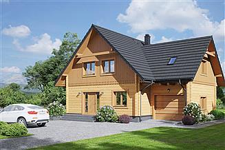 Projekt domu Grochowice 1 gdw