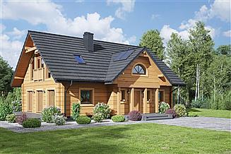 Projekt domu Chmielów dw 35