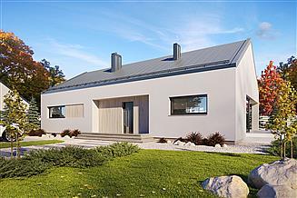 Projekt domu Semi