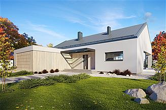 Projekt domu Semi 2