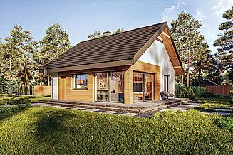 Projekt domu Murator C333v1 Miarodajny - wersja 1