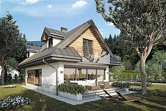 Projekt domu Koliba New