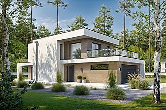 Projekt domu Porywający D67