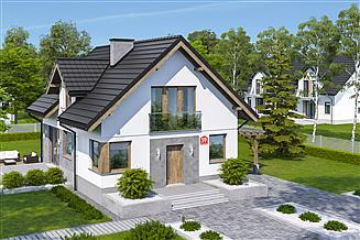 Projekt domu Dom przy Cyprysowej 59