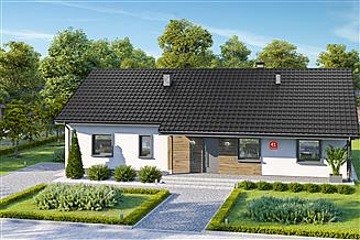Projekt domu Dom przy Bukowej 41