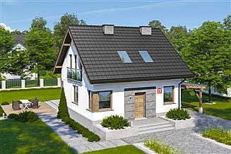 Projekt domu Dom przy Wiosennej 21