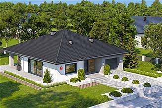 Projekt domu Dom przy Rubinowej 7