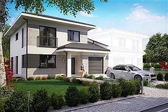 Projekt domu KA60 P S