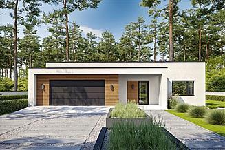 Projekt domu Eksponowany D69