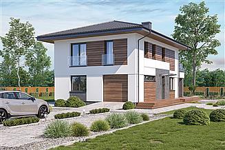 Projekt domu Murator M239g Doborowy - wariant VII