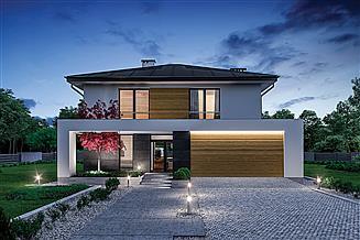 Projekt domu Murator M254b Nowa historia - wariant II