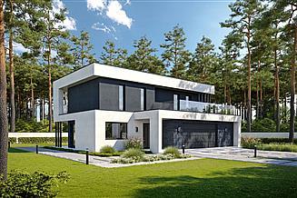 Projekt domu Stanowczy D70