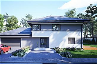Projekt domu uA30v1