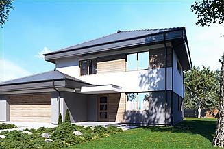Projekt domu uA41v3