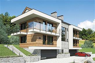 Projekt budynku wielorodzinnego Studio House