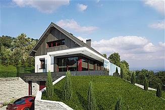 Projekt domu Bosfor