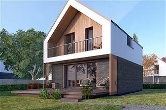 Projekt domu Mandarynka 2