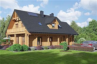 Projekt domu Świdnica dw 47