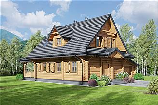 Projekt domu Dylewsko dw