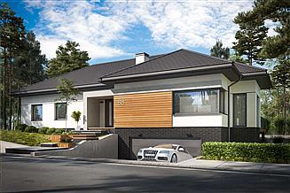 Projekt domu Laguna 3 pełne podpiwniczenie