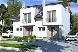 Projekt domu Iskra bliźniak B
