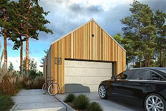 Projekt garażu Garaż G3