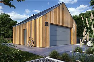 Projekt garażu Garaż G4
